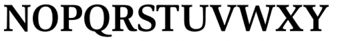 Carrara Bold Font UPPERCASE