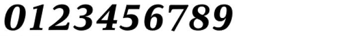 Carrara Extra Bold Italic Font OTHER CHARS