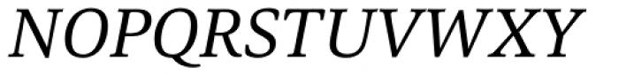 Carrara Italic Font UPPERCASE