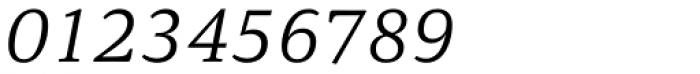 Carrara Light Italic Font OTHER CHARS