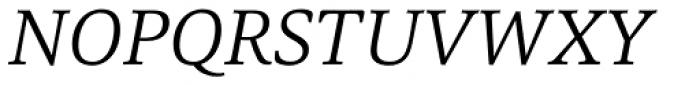 Carrara Light Italic Font UPPERCASE