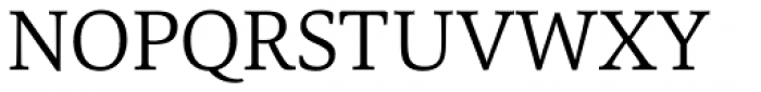 Carrara Light Font UPPERCASE