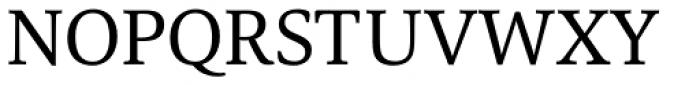 Carrara Font UPPERCASE