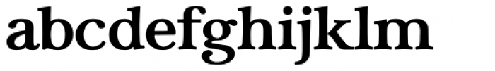 Carrig Bold Font LOWERCASE
