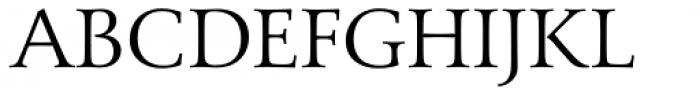 Carrig Pro Light Font UPPERCASE