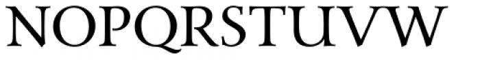 Carrig Pro Regular Font UPPERCASE