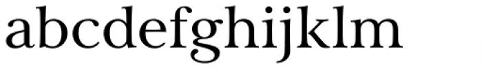 Carrig Pro Regular Font LOWERCASE