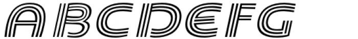 Carrigallen Display Bold Italic Font UPPERCASE