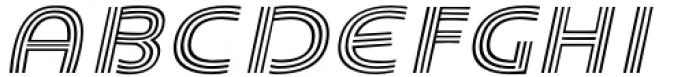 Carrigallen Display Italic Font UPPERCASE