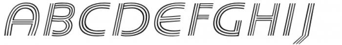 Carrigallen Display Light Italic Font UPPERCASE