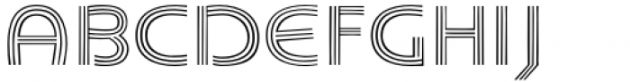 Carrigallen Display Light Font UPPERCASE