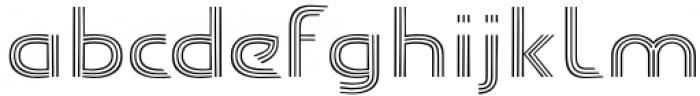 Carrigallen Display Light Font LOWERCASE