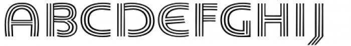 Carrigallen Display Regular Font UPPERCASE