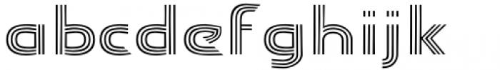 Carrigallen Display Regular Font LOWERCASE