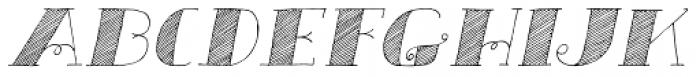 Carte Blanche Italic Font UPPERCASE