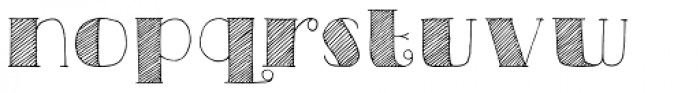 Carte Blanche Font LOWERCASE