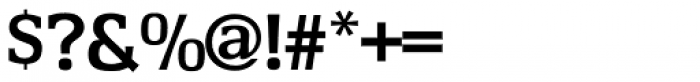 Cartel URW Medium Font OTHER CHARS