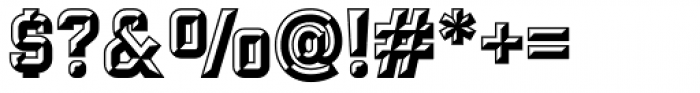 Cartella Cincelada NF Font OTHER CHARS
