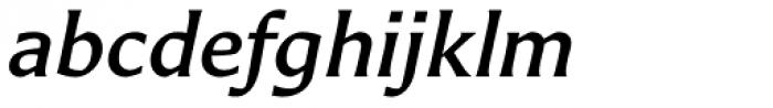 Carter Sans Std Medium Italic Font LOWERCASE
