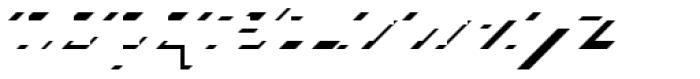 Carton Tricolore 1C Font LOWERCASE