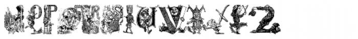 Cartoon Characters Vol. 1 Font UPPERCASE