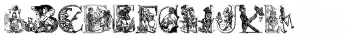 Cartoon Characters Vol. 1 Font LOWERCASE