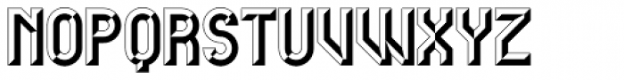 Carved Initials Font LOWERCASE