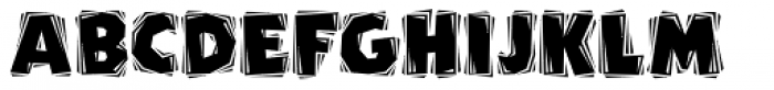 Carver ICG Font UPPERCASE