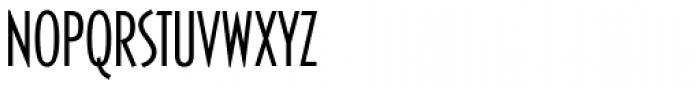 Casablanca RR Cond Light Font UPPERCASE