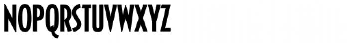 Casablanca RR Cond Medium Font UPPERCASE