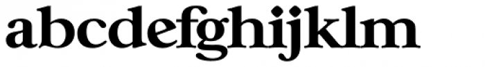 Casablanca Serial ExtraBold Font LOWERCASE