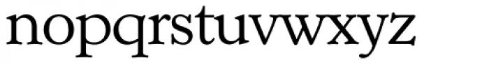 Casablanca Serial ExtraLight Font LOWERCASE