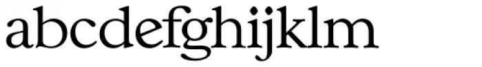 Casablanca TS ExtraLight Font LOWERCASE