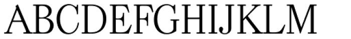 Casad Serial Light Font UPPERCASE