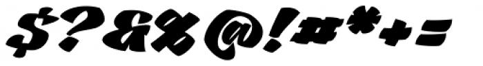 Casat Cap Fat Font OTHER CHARS