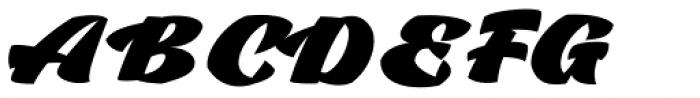 Casat Cap Fat Font UPPERCASE