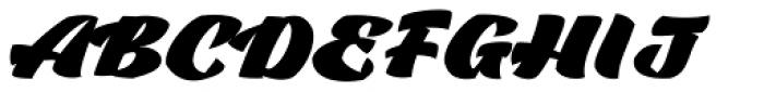 Casat Cap Fat Font LOWERCASE