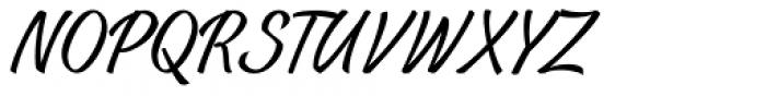 Casat Cap Thin Font LOWERCASE