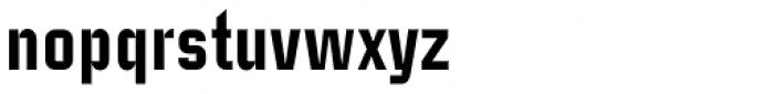 Case Study No 1 Pro Heavy Font LOWERCASE