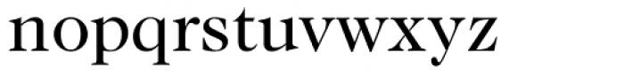 Caslon 224 Book Font LOWERCASE