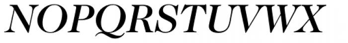 Caslon 224 Medium Italic Font UPPERCASE