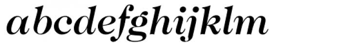 Caslon 224 Medium Italic Font LOWERCASE