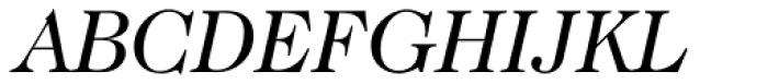 Caslon 224 Std Book Italic Font UPPERCASE