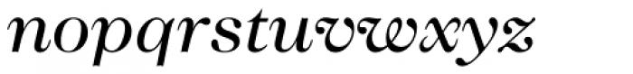 Caslon 224 Std Book Italic Font LOWERCASE