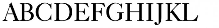 Caslon 540 BT Font UPPERCASE