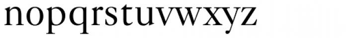 Caslon 540 BT Font LOWERCASE