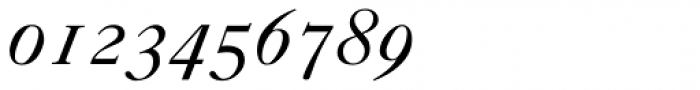 Caslon 540 Italic Oldstyle Figures Font OTHER CHARS