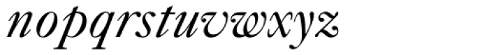 Caslon 540 Italic Oldstyle Figures Font LOWERCASE