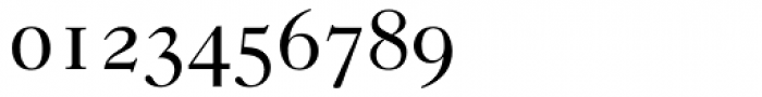 Caslon 540 Roman Small Caps & Oldstyle Figures Font OTHER CHARS