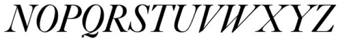 Caslon #540 Std Italic & Swashes Font UPPERCASE